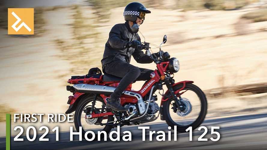 2021 Honda Trail 125 First Ride Review: No Roads Required