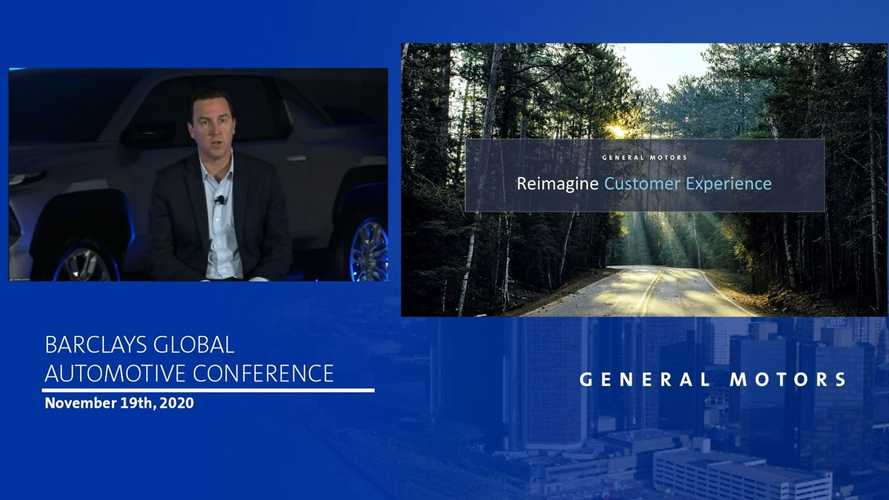 GM presentation displays Chevrolet's new electric truck