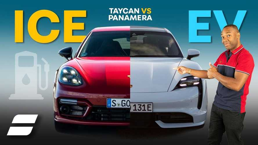 Is The Porsche Taycan Electric Car Actually Cheaper Than The Panamera?