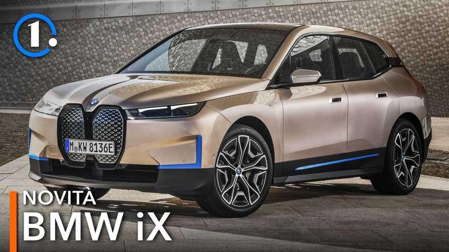 BMW iX, il SUV elettrico del 2021 grande, potente e ultra tecnologico