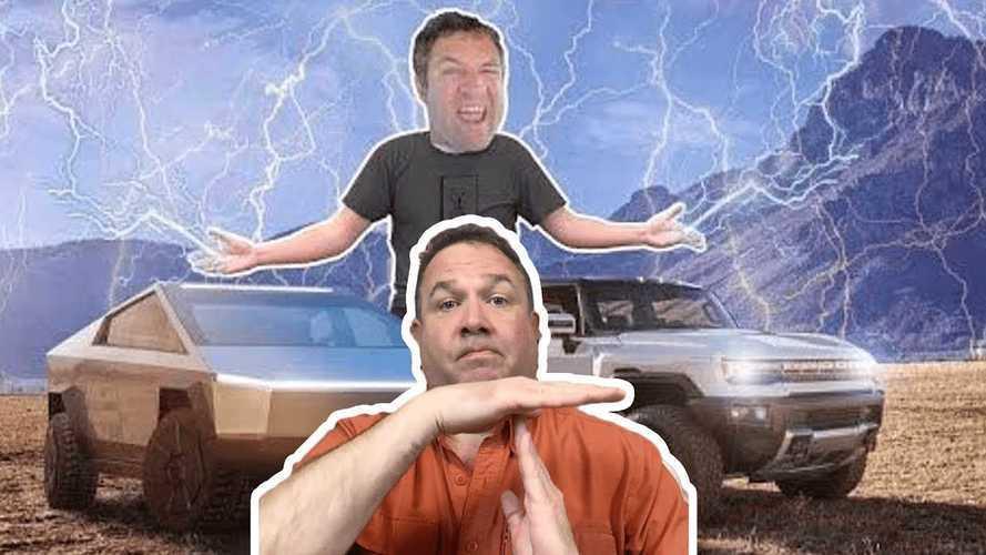 Tesla Cybertruck Vs GMC Hummer EV: The Fight Against Doug DeMuro