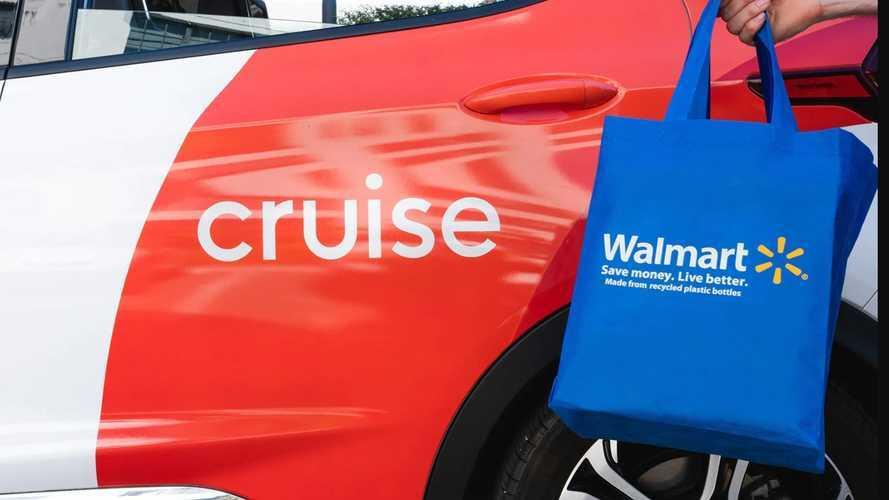 Walmart ve Cruise, sürücüsüz teslimat için el sıkıştı