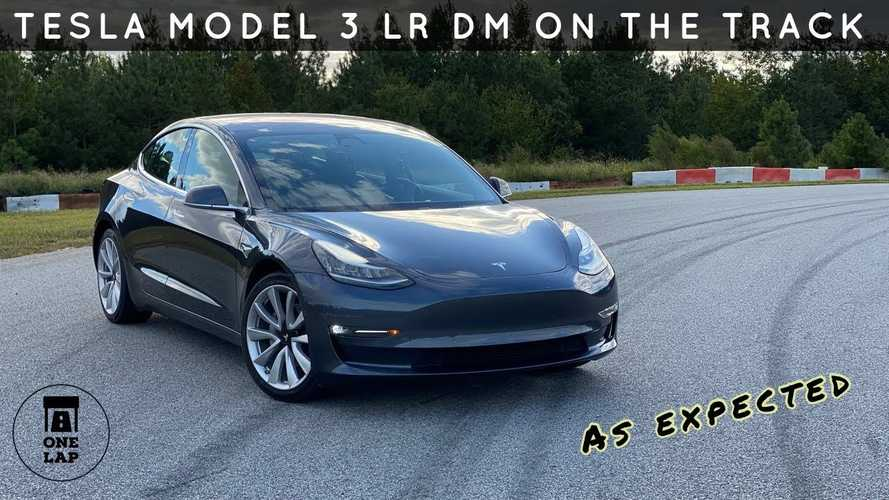 Watch Tesla Model 3 Dual Motor Tackle One Lap