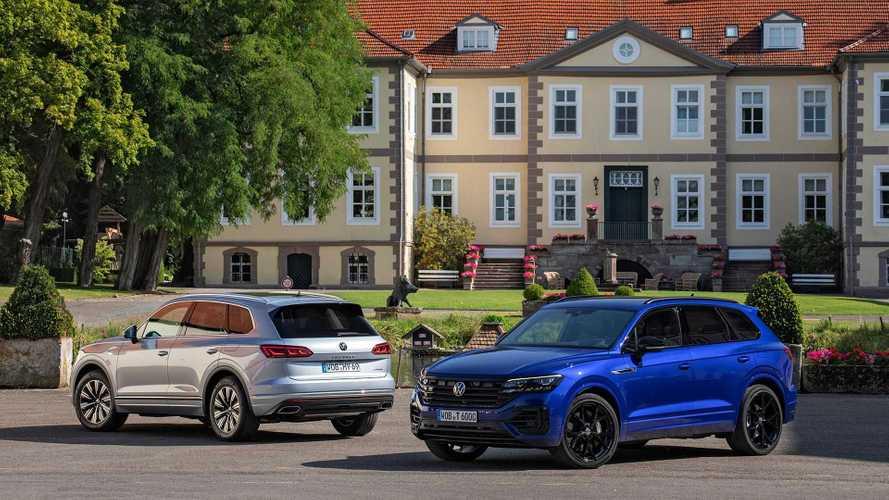Большие «розеточники»: Audi Q8 TFSI e и VW Touareg eHybrid