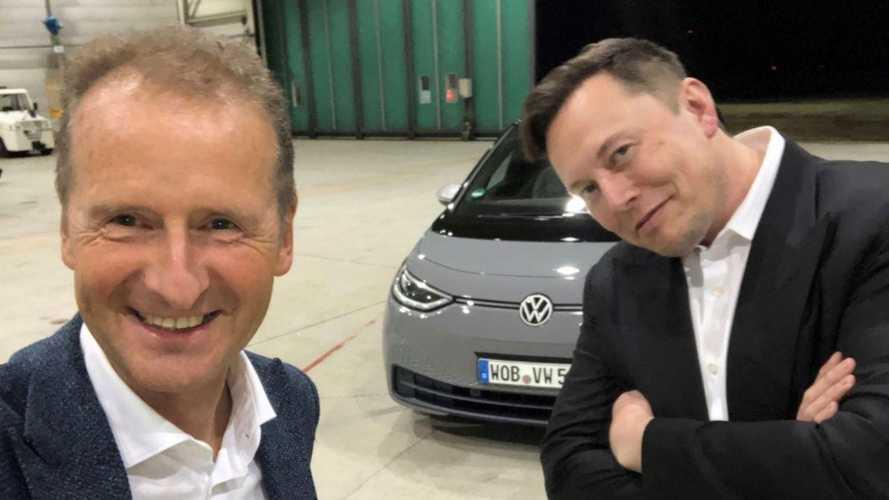 Маск про Volkswagen ID.3: «Неплохо для обычной машины»