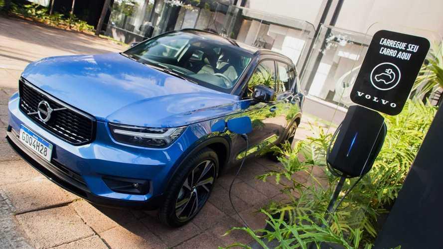 Volvo: eletropostos em todo o Brasil agora estão disponíveis no Waze