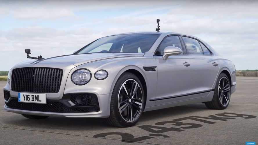 BMW M2 CS vs Bentley Flying Spur is the drag race we weren't expecting