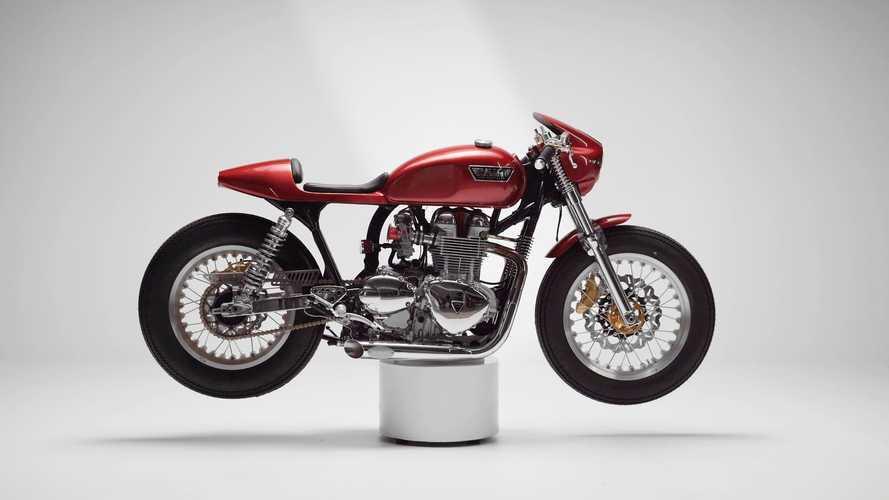 Tamarit Gullwing: una Triumph Thruxton 900, inspirada en un clásico