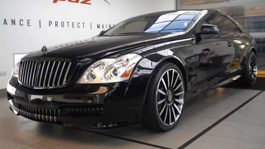 Watch the ultra-rare Maybach 57S Coupe by Xenatec get a colour change