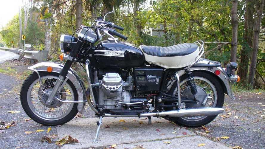 This Moto Guzzi California 850GT Was A German Police Bike