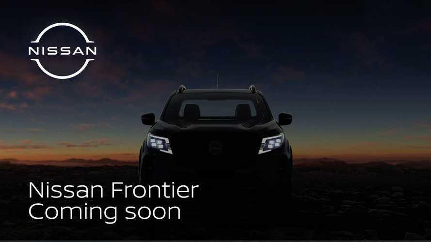 Nova Nissan Frontier 2021 ganha 1º teaser e estreia dia 4 de novembro