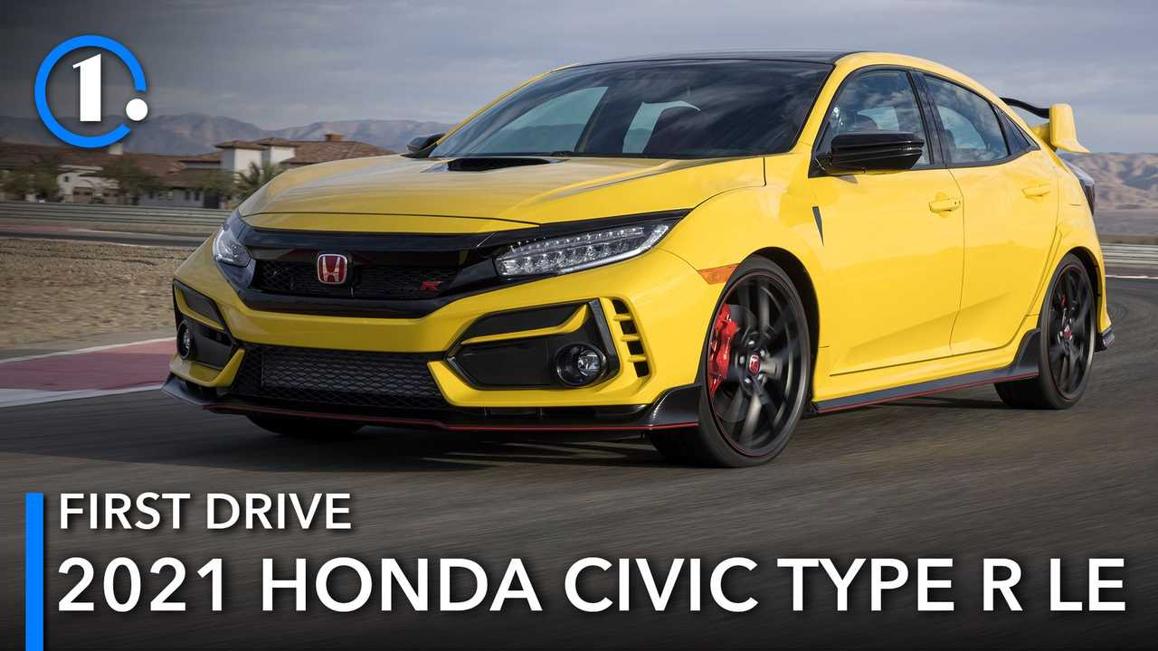 2021 Honda Civic Type R Limited Edition Lead Image
