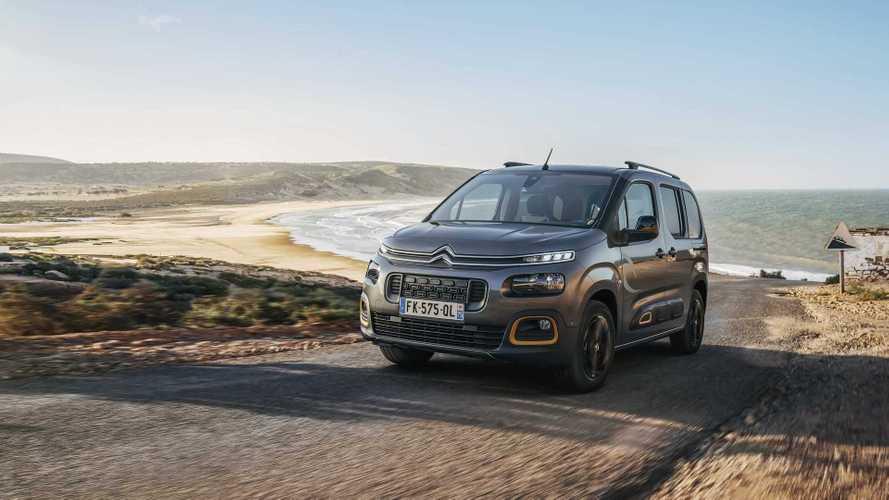 El Citroën Berlingo recibe la nueva serie especial Rip Curl