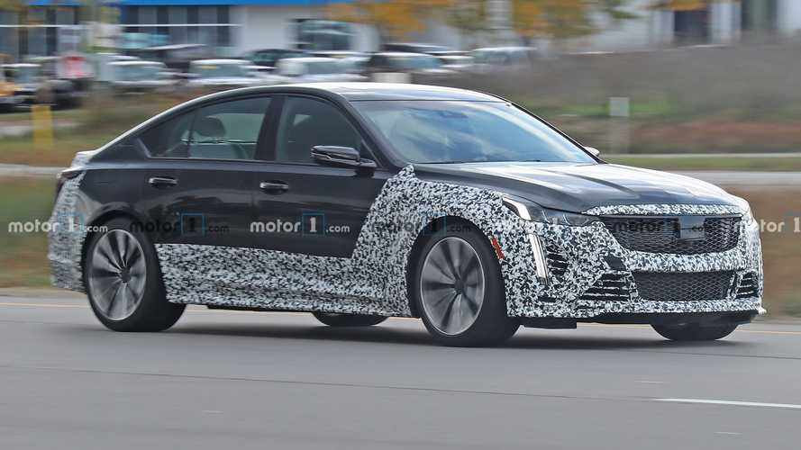 2021 Cadillac CT5-V Blackwing Spied Looking Production Ready
