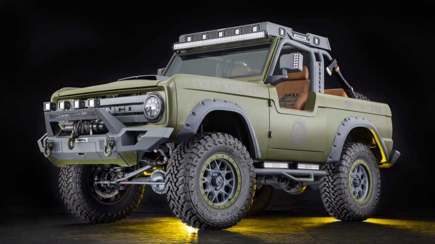 Custom Bronco Is SEMA Royalty