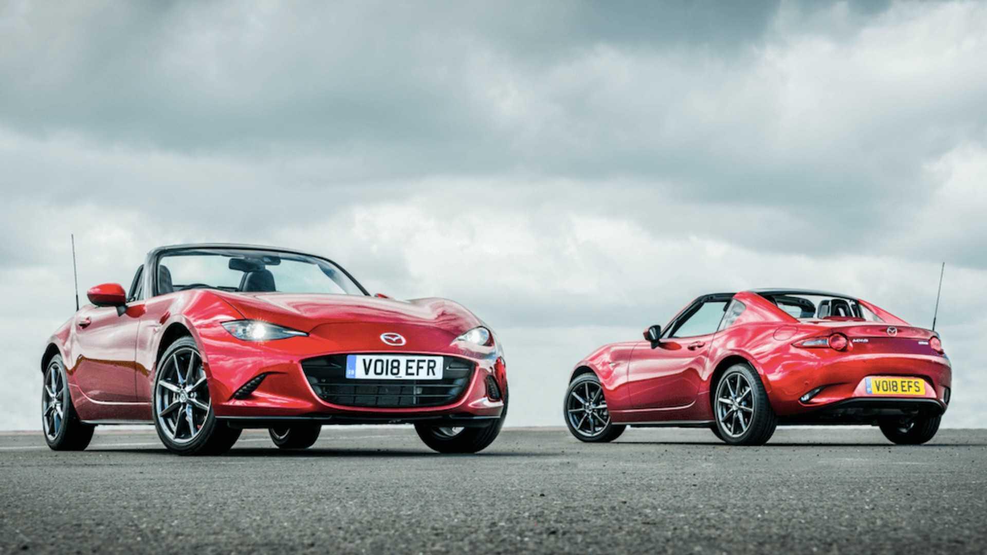 """[""""30 years of Mazda MX-5 Miata""""]"""