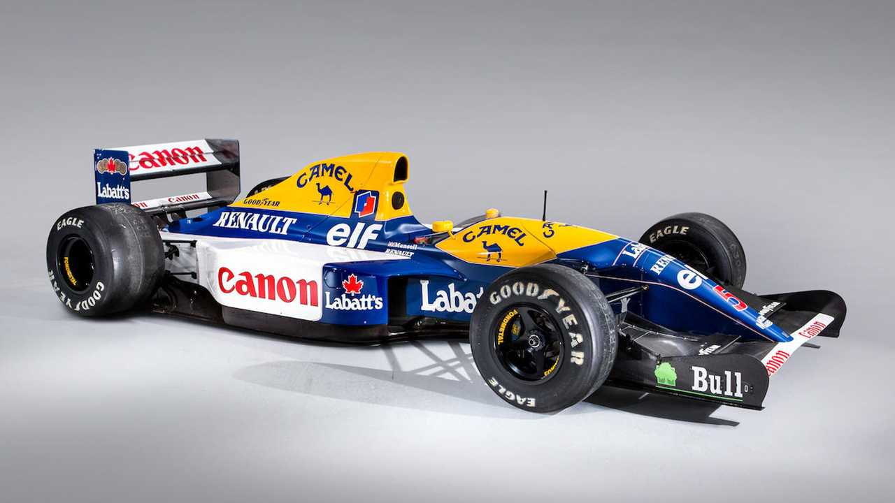 Nigel Mansell Williams FW14B Formula 1 car