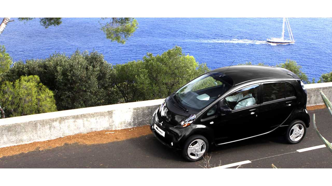 Mitsubishi i-MiEV Out For An All-Electric Spin In Malta