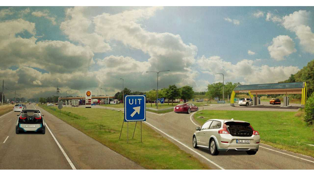 Grand Opening Of FastNed Quick Charging Network In Netherlands - 200 Quick Chargers Coming in 2 Years (w/video)