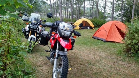 Motorcycle Camping: It's In Tents!