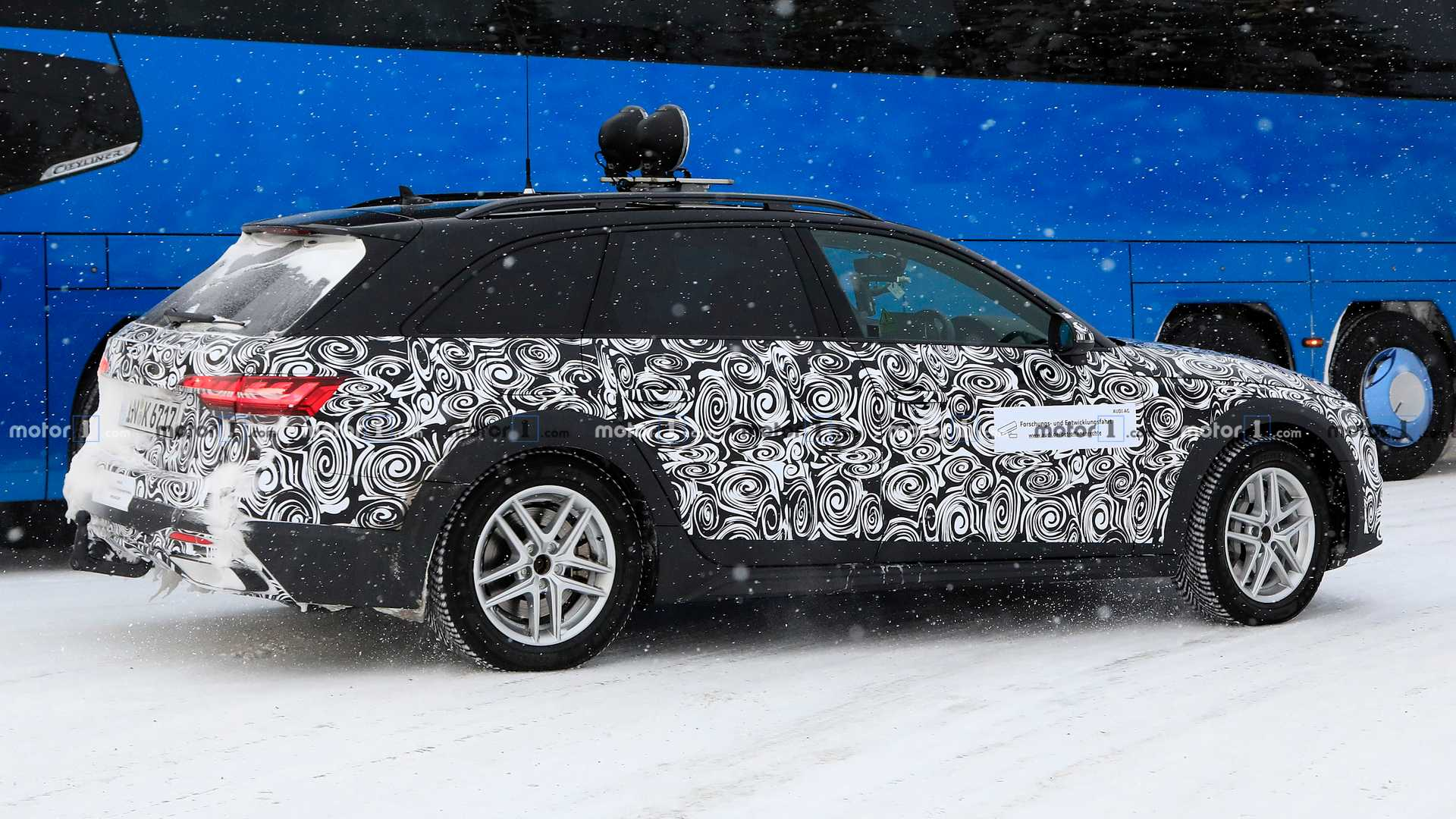 New Audi A4 Allroad Spied For The First Time [UPDATE]