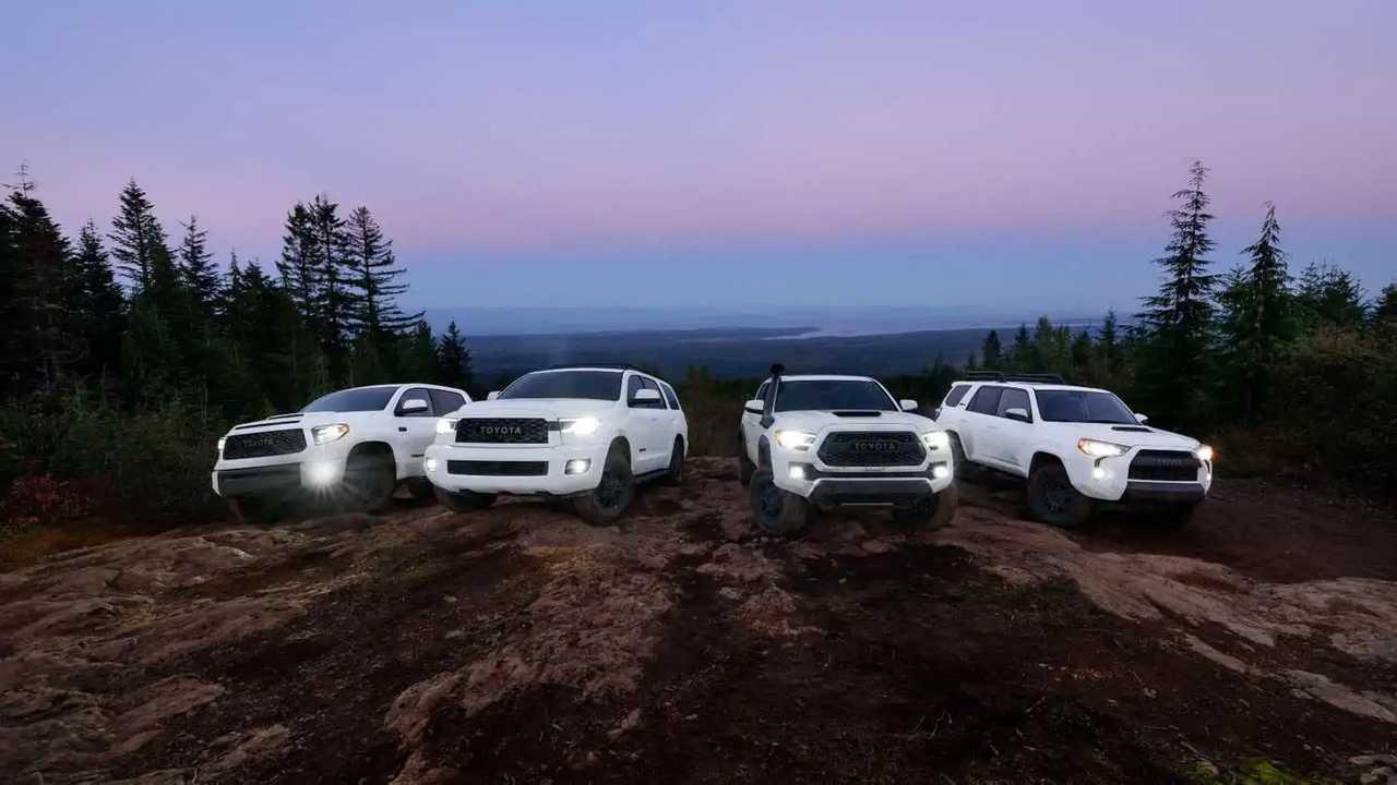 2020 Toyota TRD Pro Lineup