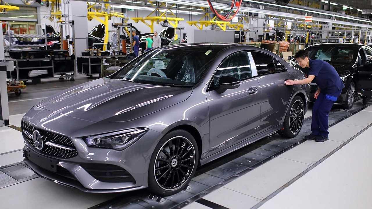 Mercedes-Benz CLA Coupé, Kecskemét