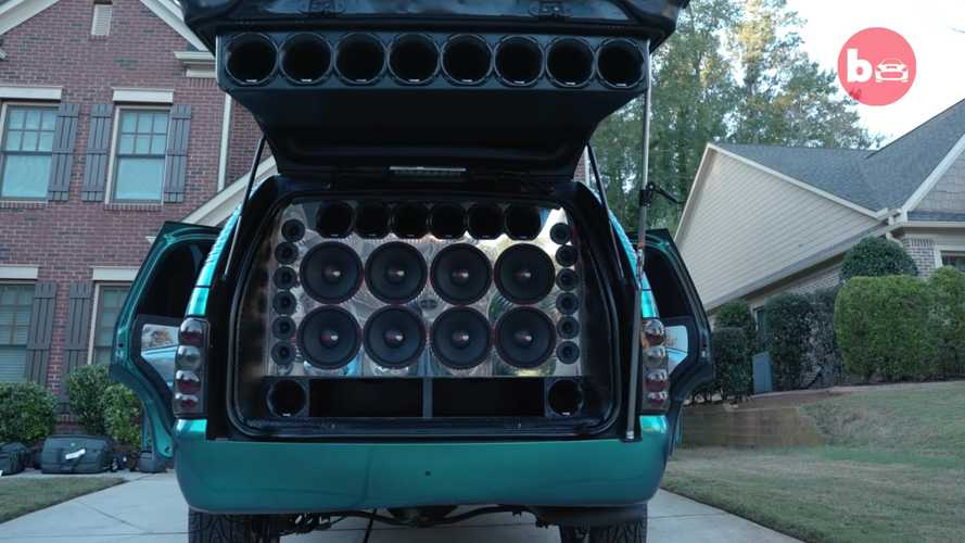 Chevy Tahoe With 62 Speakers Is Your Neighbor's Worst Nightmare