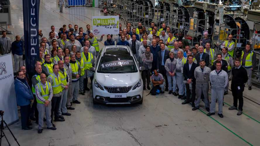 "Peugeot 2008 - Un million d'exemplaires ""made in France"""
