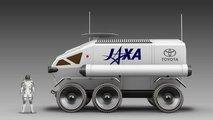 Toyota Lunar Rover Concept Art