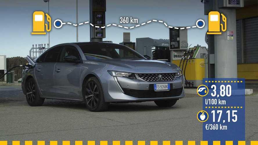 Peugeot 508 BlueHDi 130 S&S EAT8, prueba de consumo real
