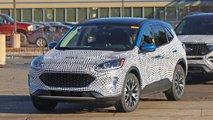 Foto do espião do escape de 2020 Ford