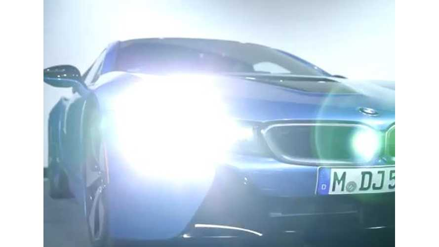BMW Innovation - Lighting and BMW i8 Laser Lights - Video