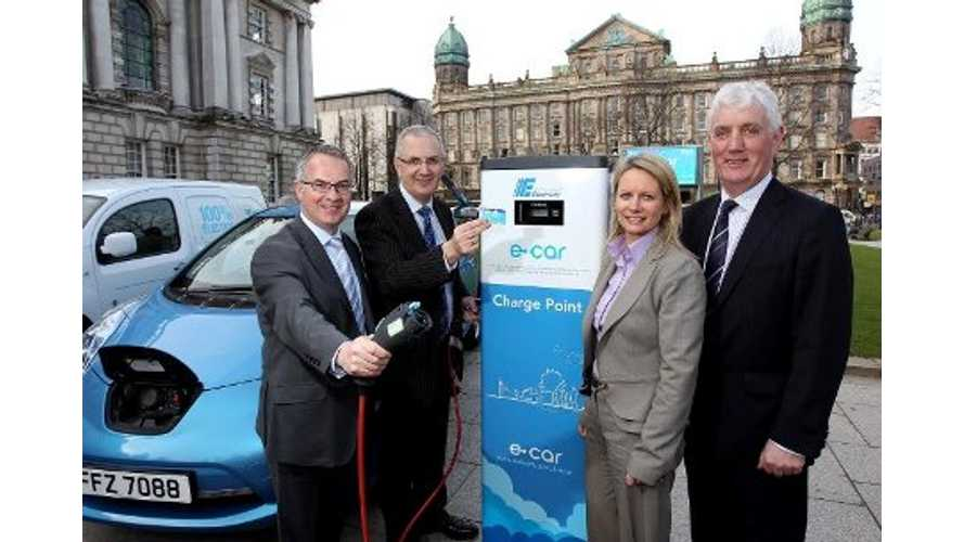 33 Quick Chargers In Northern Ireland Remain Never Once Used