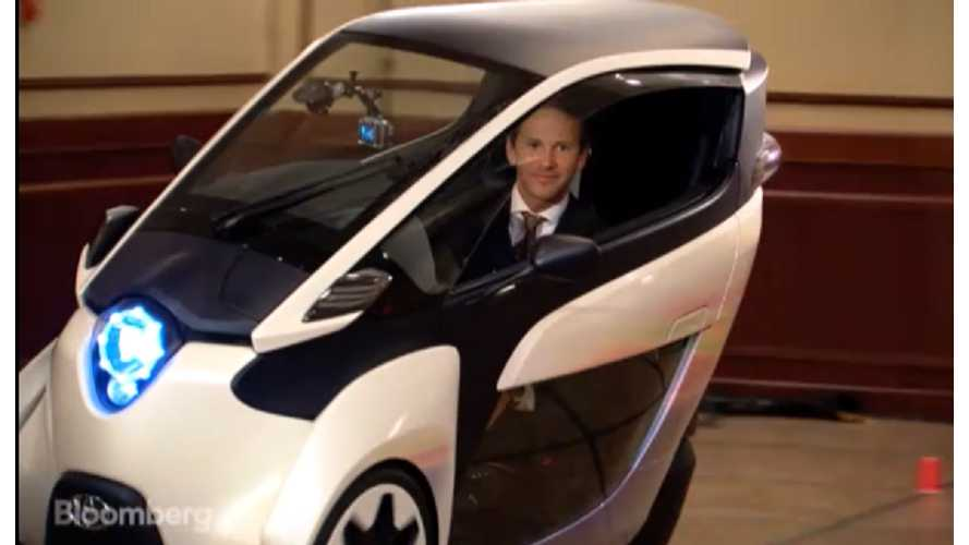The Toyota i-Road Comes To Congress To Play - video