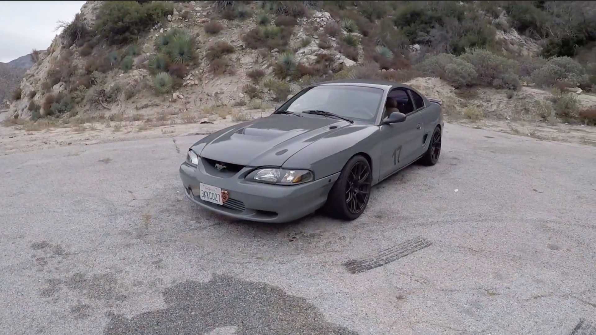 "[""1994 Ford Mustang with a Toyota 2JZ engine: superb or sacrilege?""]"