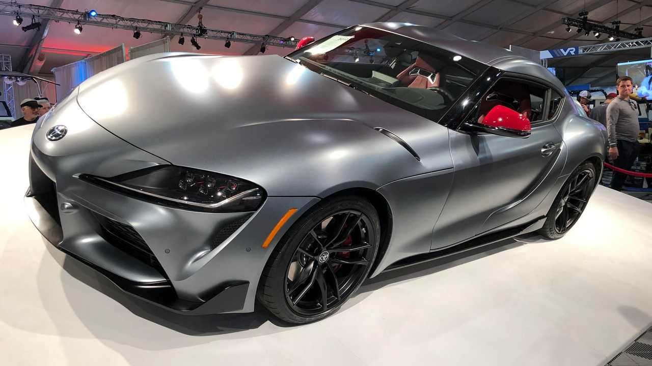 First Production 2020 Toyota Supra Sold At Auction