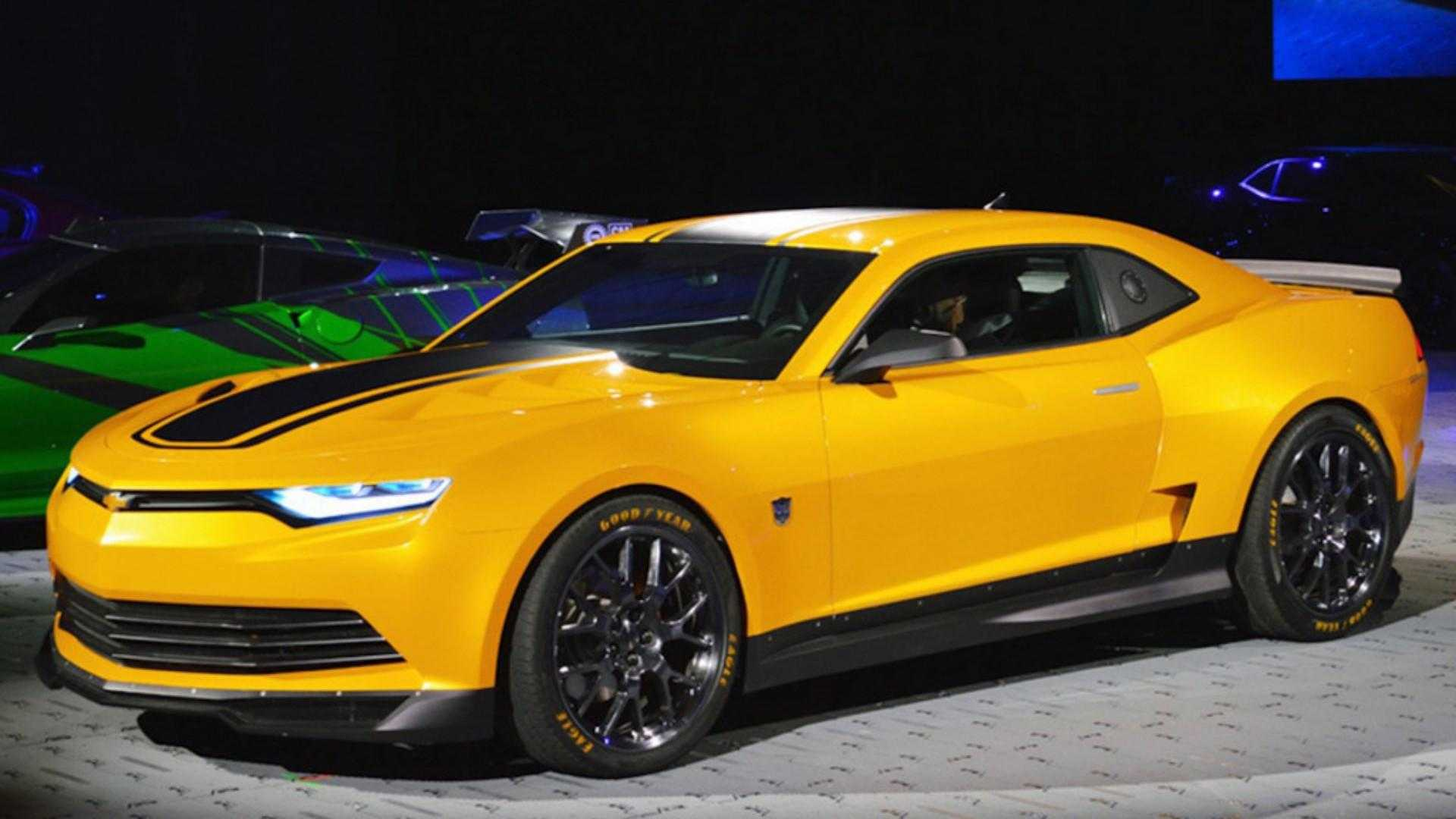 "[""Transformers' Bumblebee Chevy Camaros Pull $500,000 in Group Auction""]"