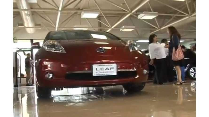 Nissan LEAF Lands in Guam (w/video)