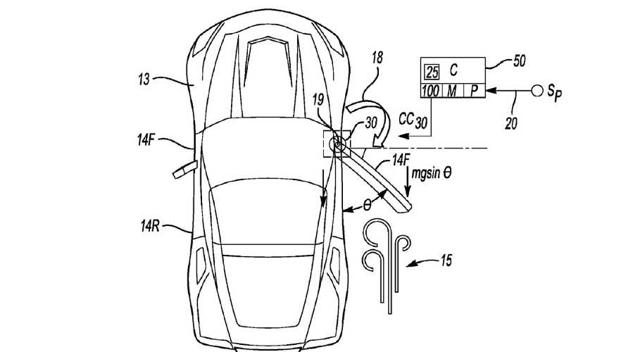 Corvette to get power doors? Patent application suggests yes