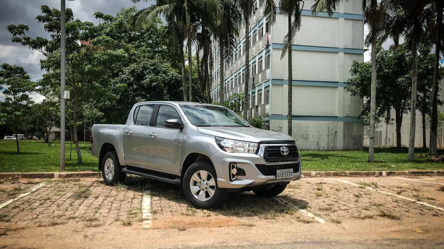 Toyota Hilux SR Flex 2019