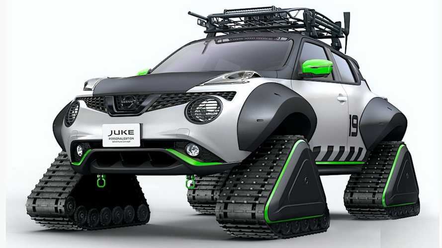 Juke Snowmobile Heading To Tokyo Salon Because Of Course It Is