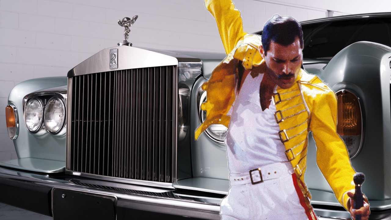 La collezione di auto di Freddie Mercury