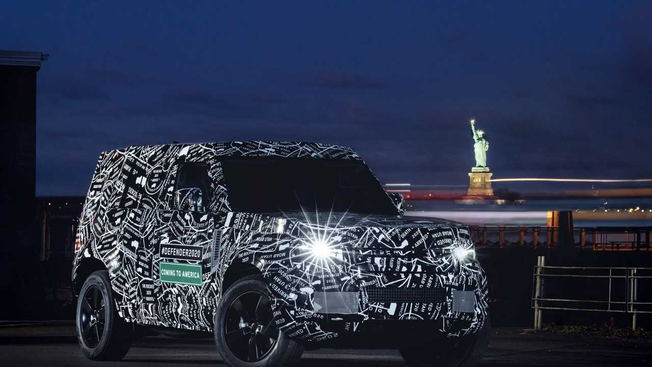 Land Rover Defender test prototipleri - Kuzey Amerika