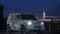Land Rover Defender test prototypes in North America