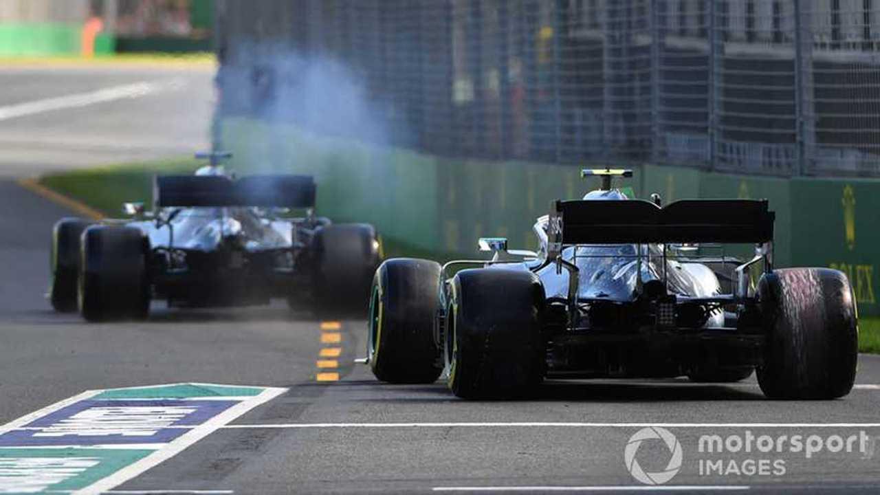 Mercedes AMG W10s at Australian GP 2019