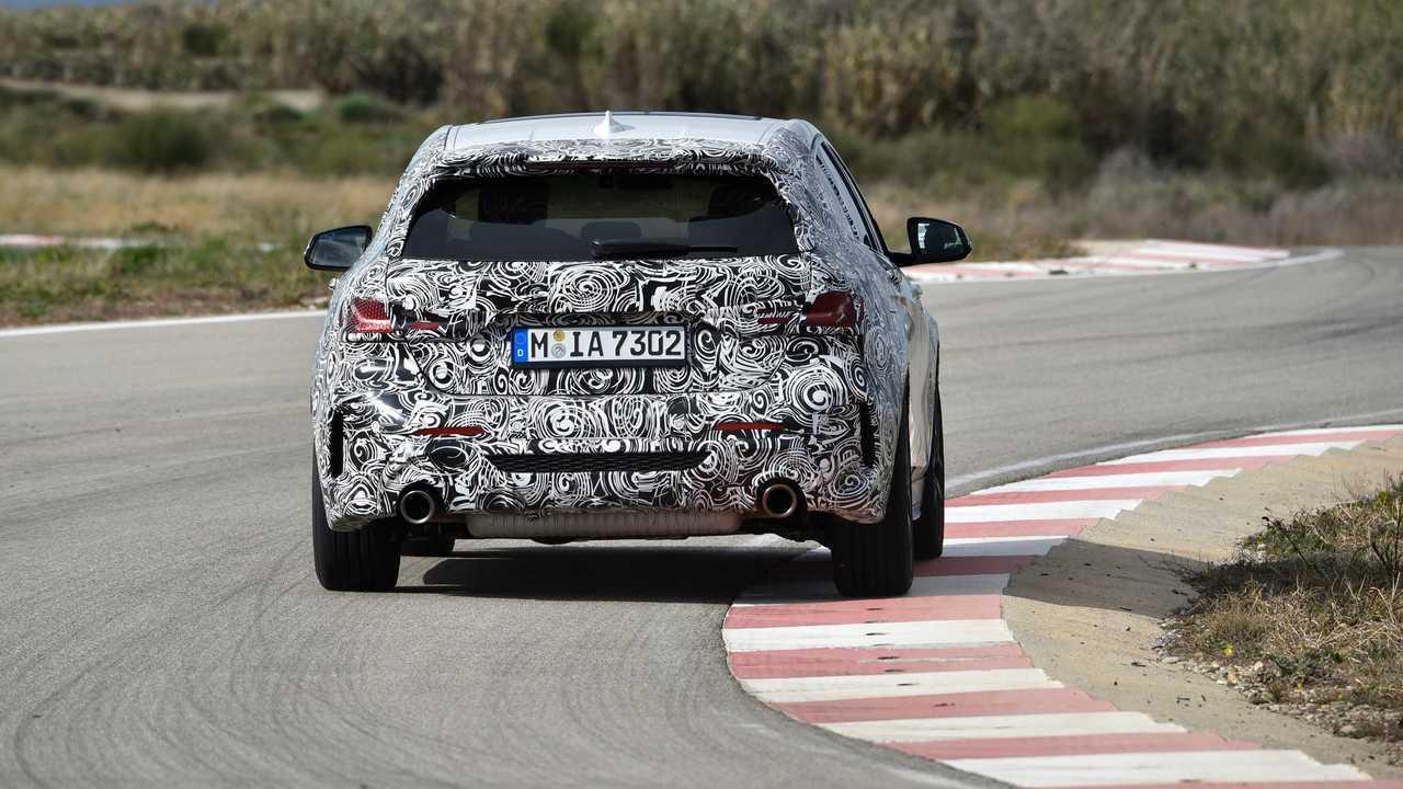 Nuova BMW  Serie 1, gli ultimi test a Miramas
