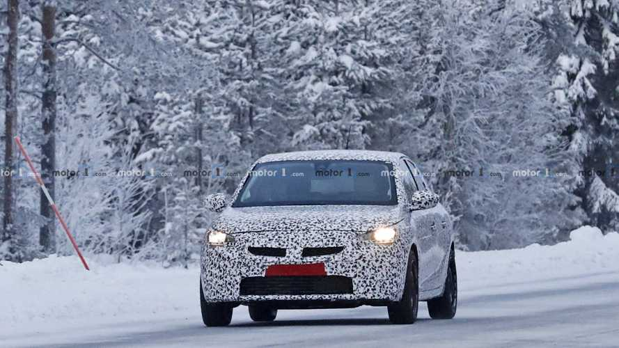2020 Opel Corsa new spy photos