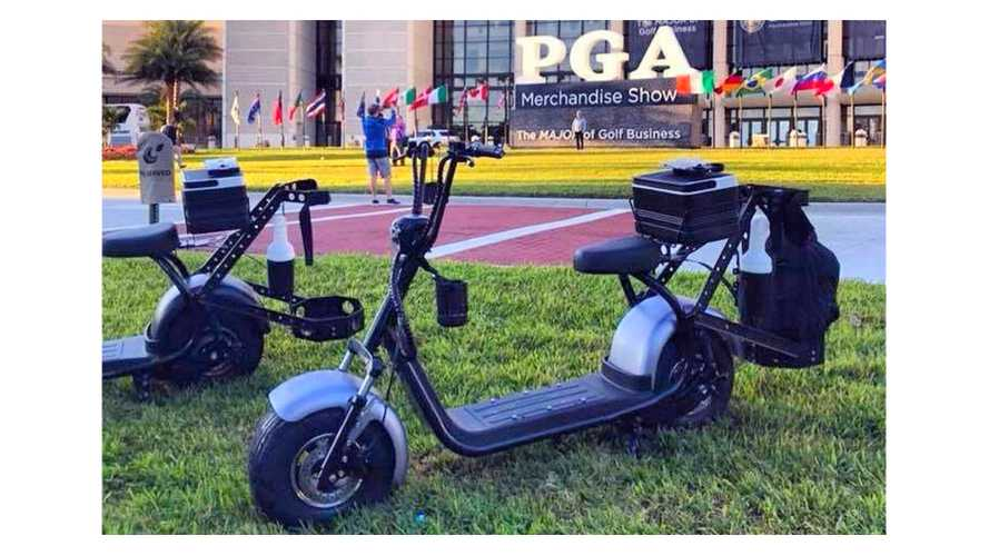Will Motor Scooters Bring Excitement To Golf?