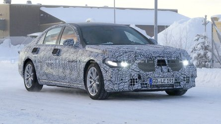 2020 Mercedes S-Class Prototypes Seen Enduring Winter Testing